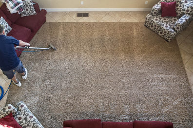 An example of our carpet cleaning services in St George, UT
